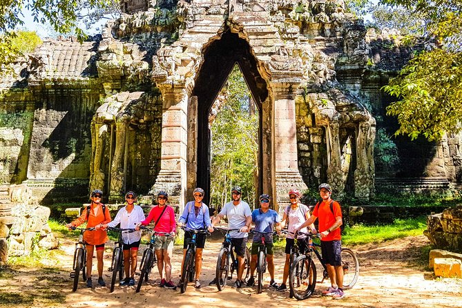 Full Day Discovering Angkor By Bike