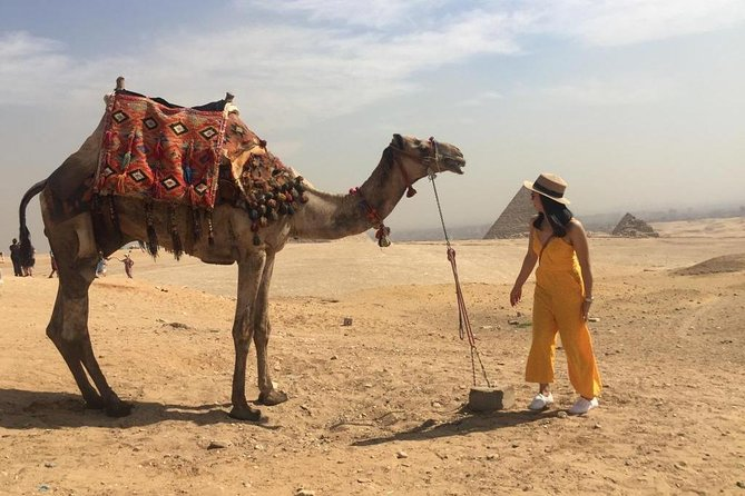 Half-Day Trip to Giza Pyramids, Sphinx, Valley Temple with Camel Ride photo 9