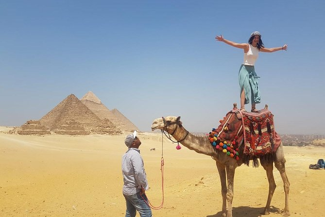 Half-Day Trip to Giza Pyramids, Sphinx, Valley Temple with Camel Ride photo 2