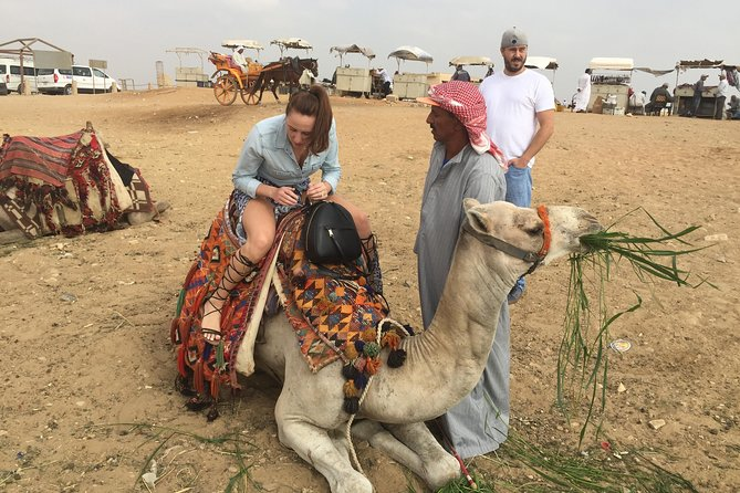 Half-Day Trip to Giza Pyramids, Sphinx, Valley Temple with Camel Ride photo 10