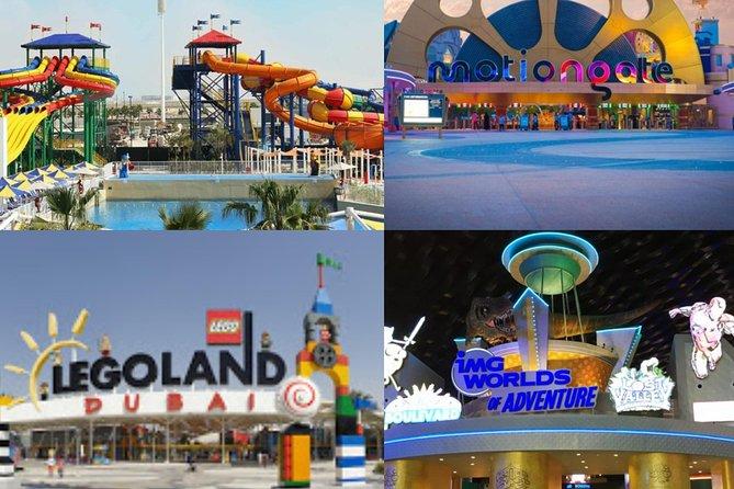 DUBAI PARKS 1 DAY 2 PARKS (Choice Is Yours) photo 1