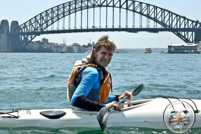 Kayak to Goat Island in Sydney Harbour with Local