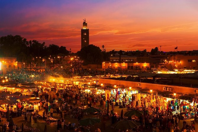 Marrakech by night photo 1