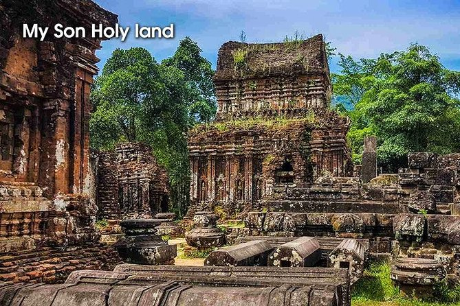 My Son Hindu Temples by US Jeep or Car - UNESCO HERITAGE SITE - Private Tour