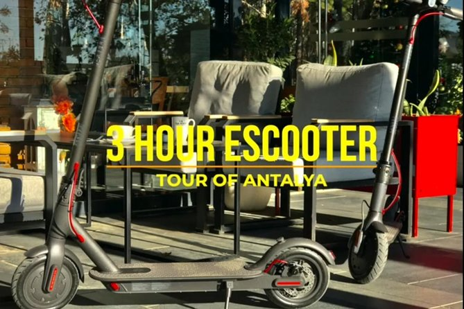 Electric Scooter Tour of Antalya
