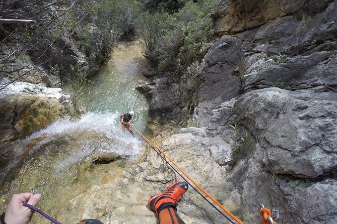 Canyoning in Los Majales