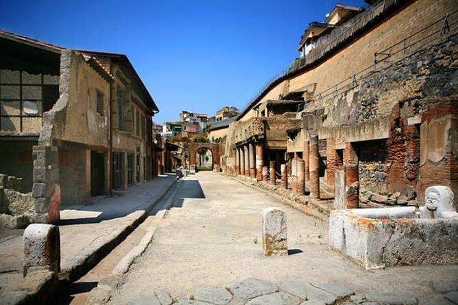 Pompeii and Herculaneum tour by train from Sorrento
