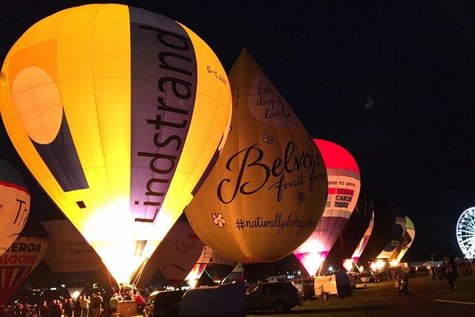 The Night Glow at the Bristol Balloon Fiesta