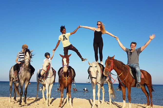 One hour Horse Riding At Amazing Desert - Hurghada photo 7