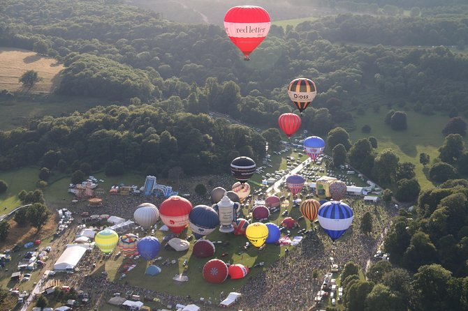 Hot Air Balloon Flight from Tiverton
