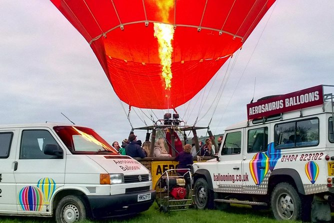 All fired up! Aerosaurus Balloons Ground Crew