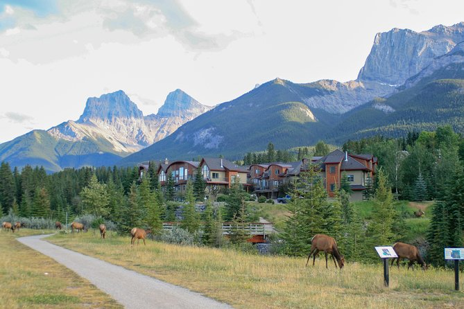 Walking Tour of the Three Sisters Pathway in Canmore