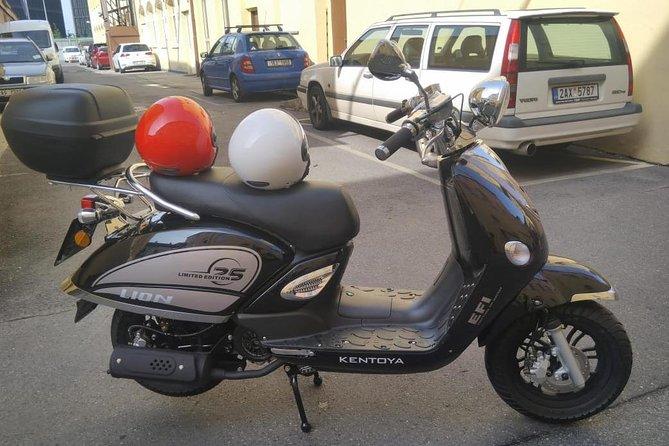 Scooter rental in Prague