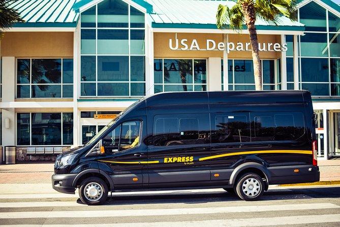 Round-Trip Aruba Private Minivan Transfer