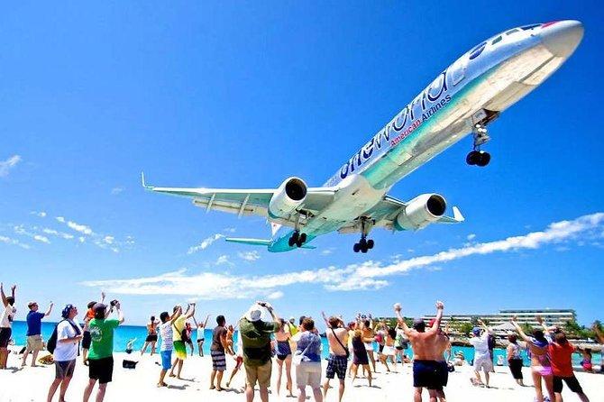 Maho Beach Extreme Jet Blast