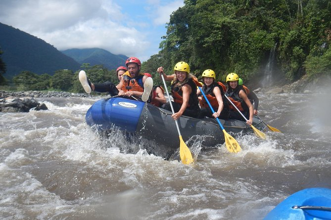 Rafting on the Pastaza river level lll + and lV 25.00 USD