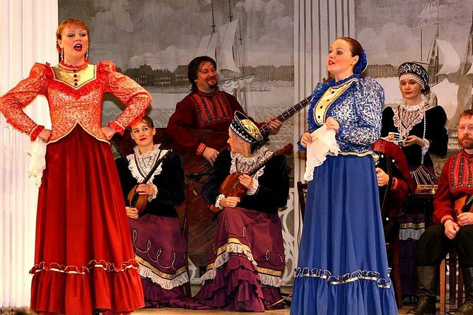Russian Folk-Show at Nikolayevsky Palace with transfer to/from the ship