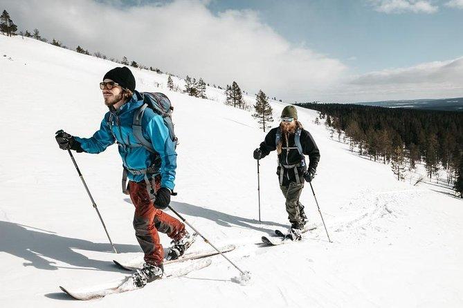 Snow Fun by short skis from Saariselkä
