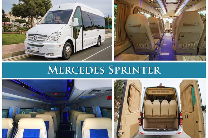 Arrival Private Transfer from Paphos Airport PFO to Paphos City by Minibus