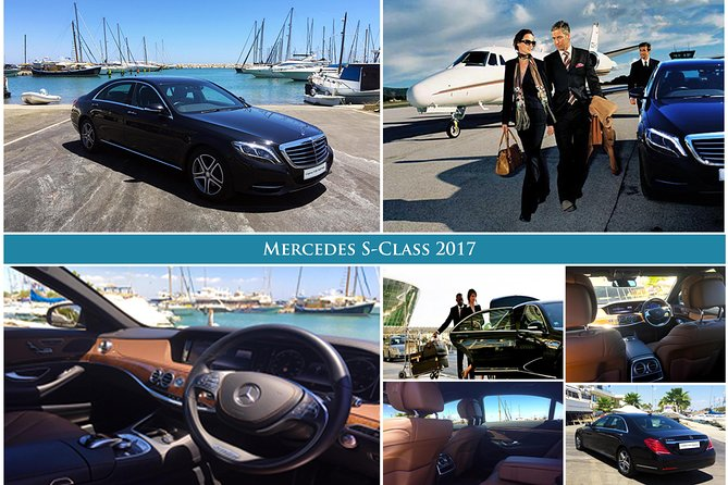 Arrival Private Transfer Larnaca Airport LCA to Larnaca City / Bay by Luxury Car