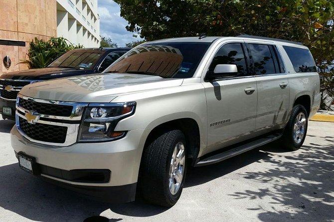 Private Luxury SUV Cancun Airport to Playa del Carmen