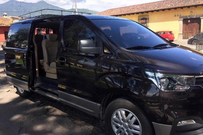 Private Group transportation from Guatemala city to La Antigua