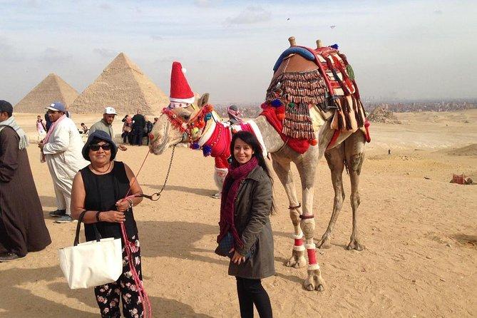 One day private tour of Giza pyramids, Sakkara pyramids & Memphis old city