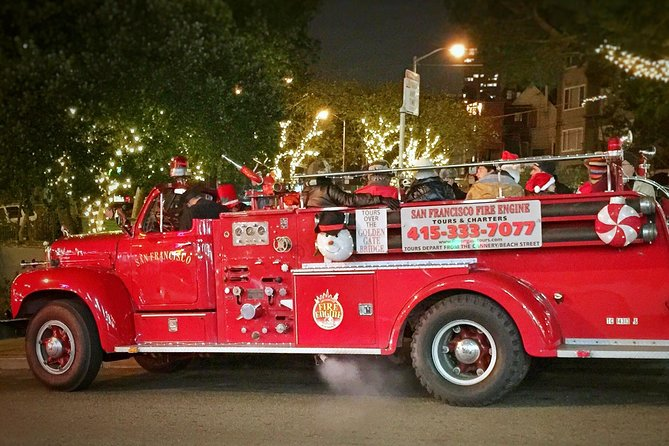 San Francisco Fire Engine Holiday Lights Tour