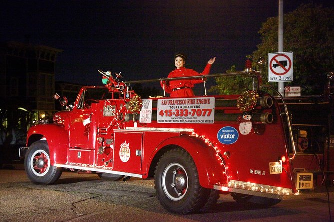 San Francisco Fire Engine Holiday Lights Tour photo 3