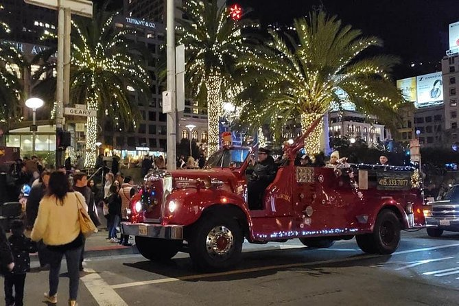 San Francisco Fire Engine Holiday Lights Tour photo 4