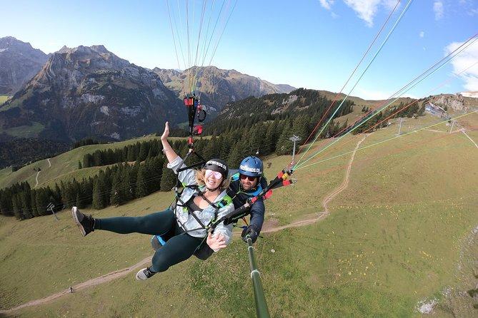Paragliding Tandemflight Engelberg - Lucerne