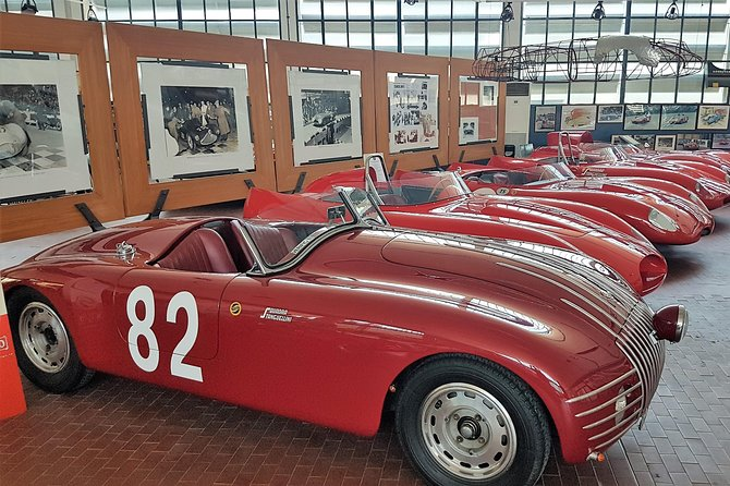 Guided tour to Stanguellini classic cars museum in Modena
