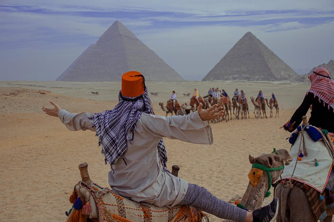 Private 8-Hour Tour: Giza Pyramids, Memphis, Saqqara, and Dahshur Pyramids photo 3