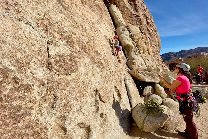 Intro to Rock Climbing in Joshua Tree National Park