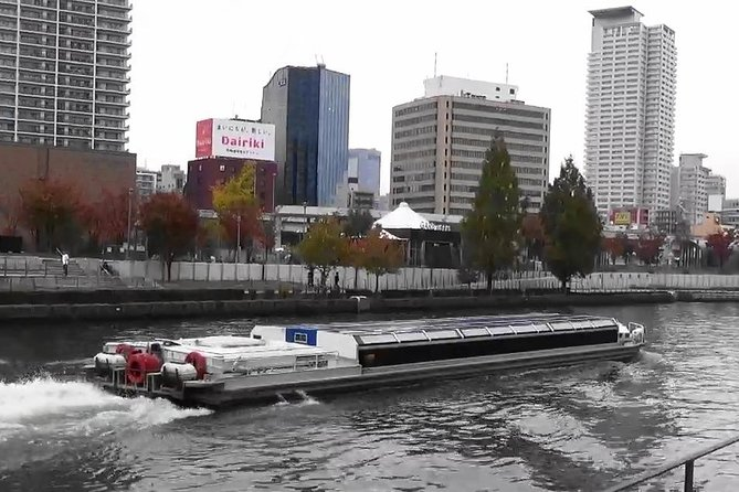 Boat tour to the Osaka Castle and Yakiniku Party in Tsuruhashi area