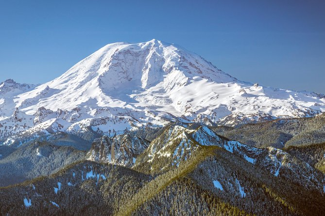 Private Mt. Rainier Helicopter Flight & Alpine Hike from Seattle