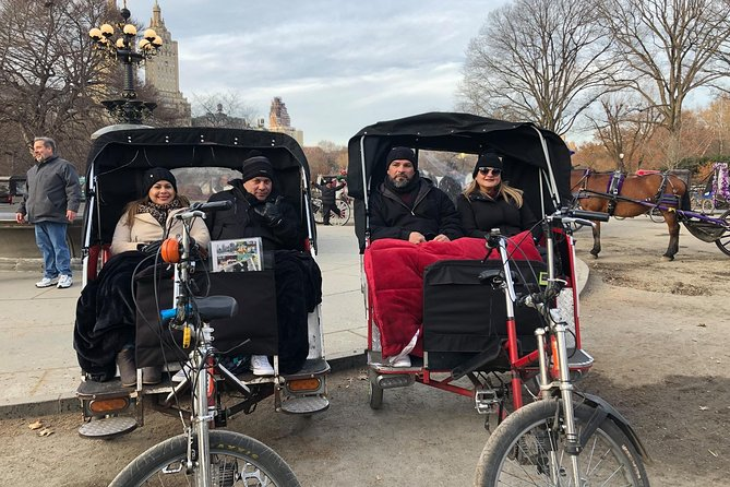 Best NYC Central Park Private Pedicab Tour.
