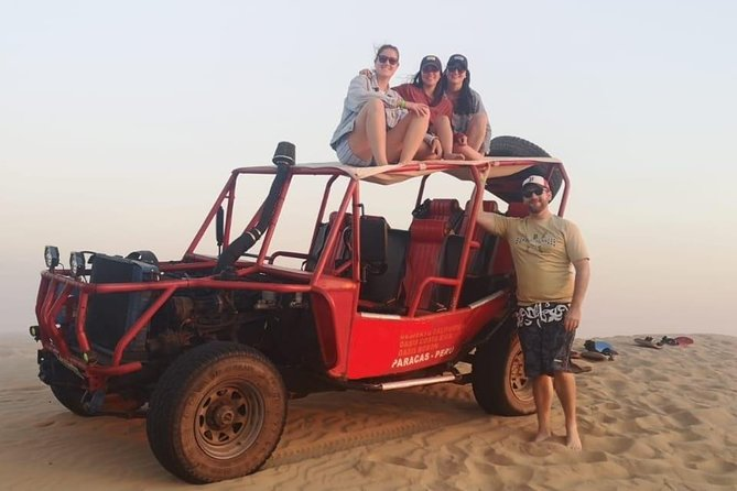 Sandboarding and relax in Oasis Costa Rica / Paracas