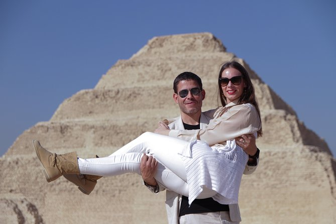 Half-Day Tour from Cairo: Dahshur Pyramids Sakkara and Memphis City photo 1