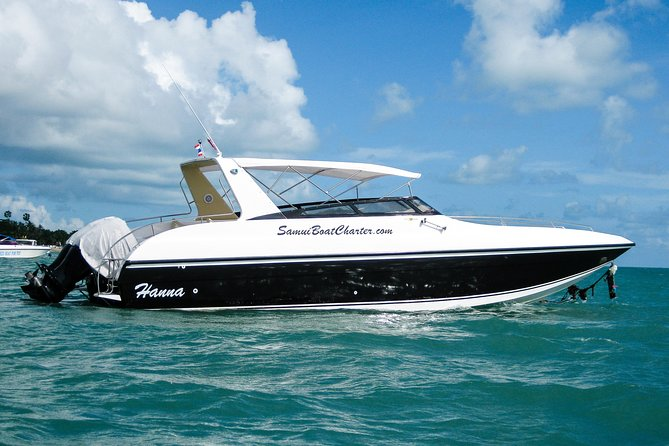 Samui Boat Charter, Private Half-Day 4 hours Koh Phangan Cruise from Koh Samui.