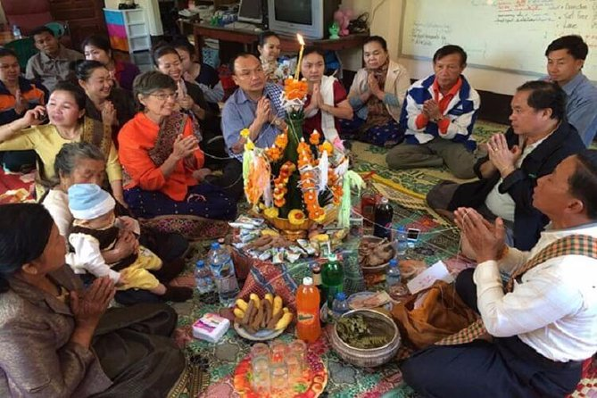 Luang Prabang Baci Ceremony & Home Hosted Dinner Tour