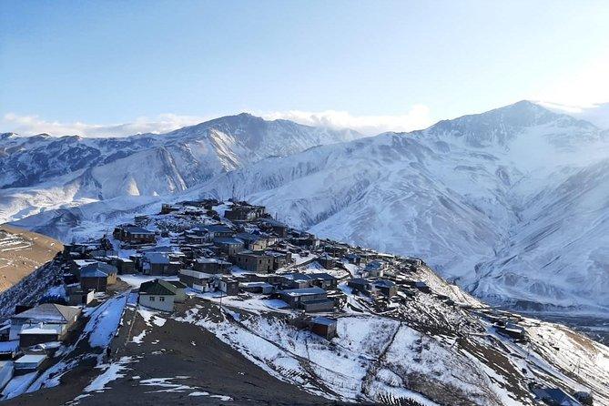 Khinaliq Village Tour Qusar