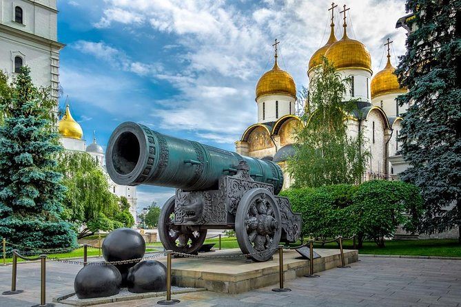 Private Shore Excursion: Moscow Highlights on Fri-Wed (for 2-day cruisers)