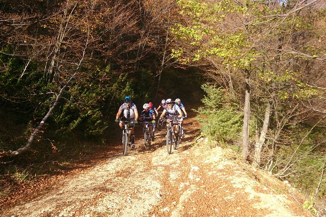 Pescasseroli by bike in the beech forest Unesco heritage (Abruzzo National Park)