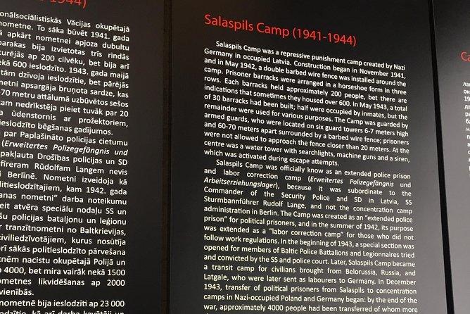 Visit of Salaspils Memorial Ensemble
