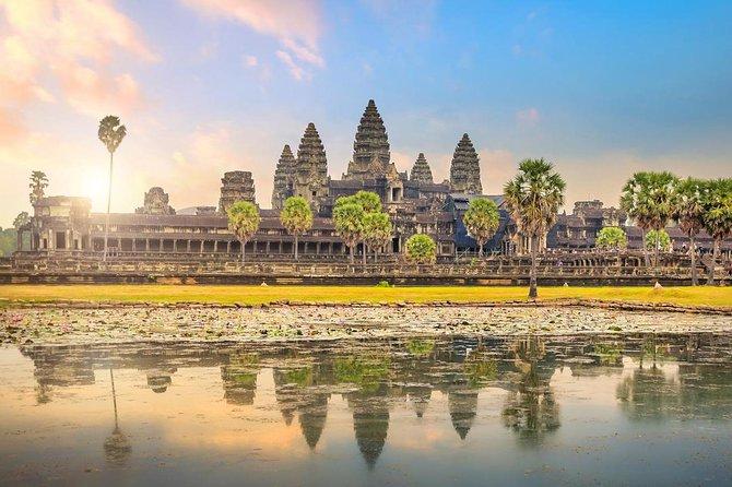Explore Angkor Wat Sunrise Private Tour