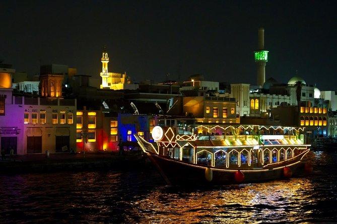 Dinner At Dhow Cruise Dubai Creek