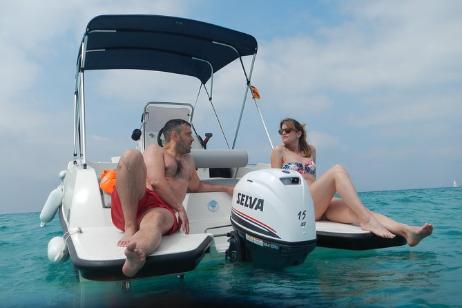 Can Pastilla Boat Rental without License