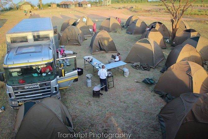 5 Days Backpacking Camping Kenyan Safari