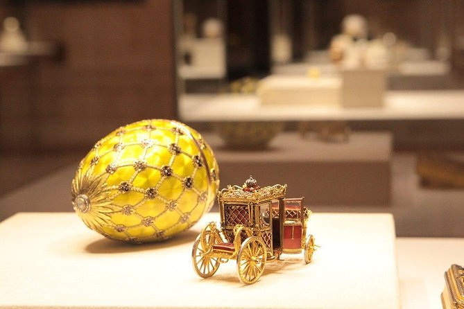 Private tour of St. Petersburg with a visit to the Faberge Museum